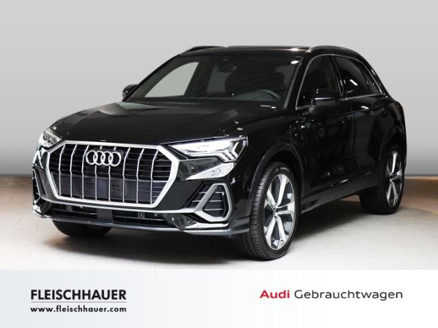 Audi Q3 45 TFSI e S line 1.4 LED PANORAMAD UPE 68.523 EUR, Jahr 2021, Hybrid