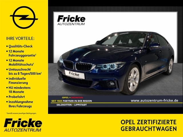 BMW 430 Gran Coupe M Sportpaket/Alcantara/Navi, Jahr 2017, Diesel