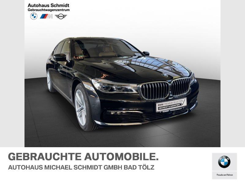 BMW 740e TV*Glasdach*Sitzbelüftung*Fond Entertainment*, Jahr 2018, Hybrid