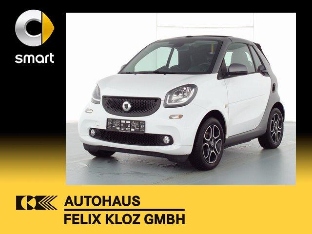 smart smart fortwo cabrio 66 KW+Automatik+Navi+Cool Me, Jahr 2019, Benzin