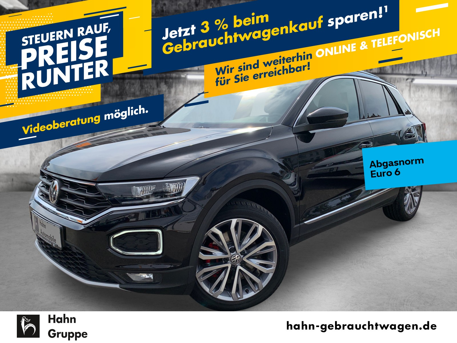 Volkswagen T-Roc 1.5TSI Sport ACC LED Navi Sitzh Cam PDC, Jahr 2019, Benzin