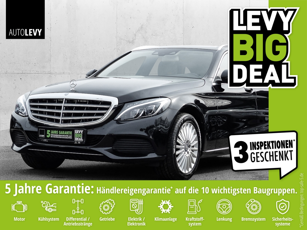 Mercedes-Benz C 250 T 7G-TRONIC Exclusive LED ILS*Pano*HUD*Nav, Jahr 2015, Benzin