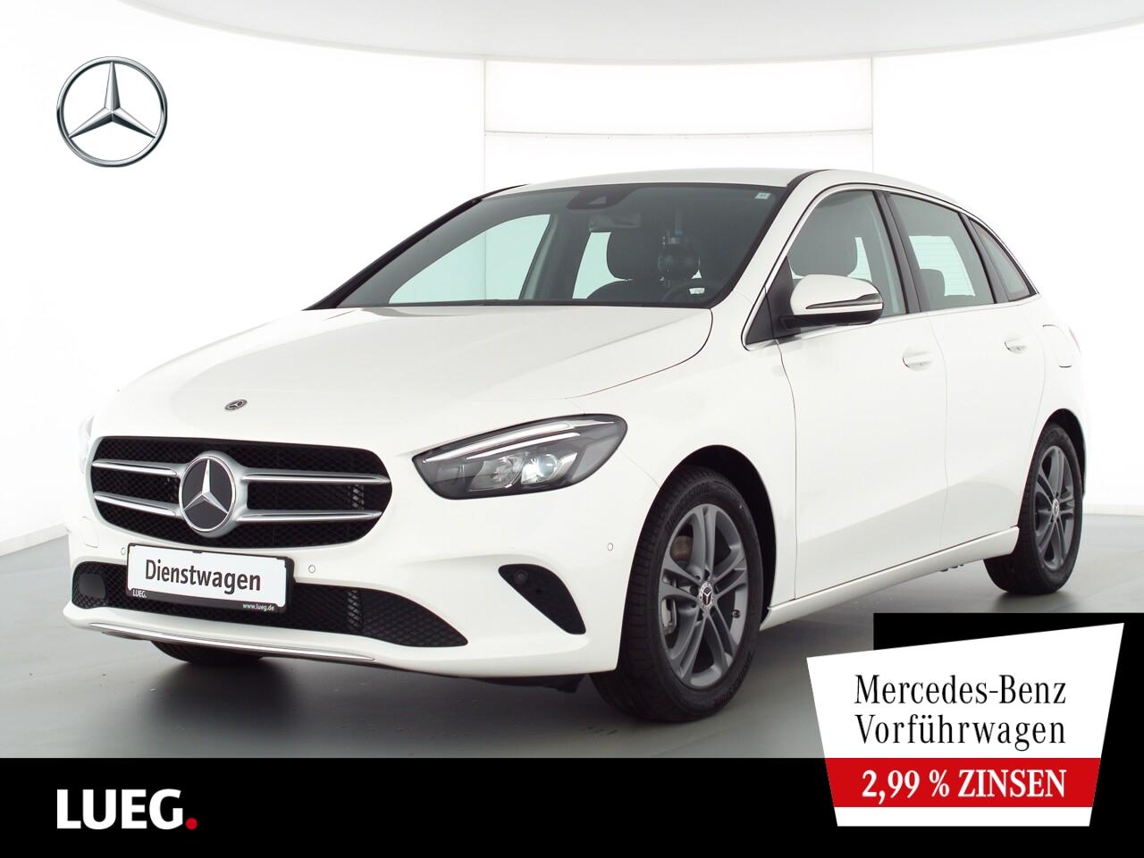 Mercedes-Benz B 200 PROGRESSIVE+TOTW.+KAMERA+LED+NAV-PREM+PTS, Jahr 2021, Benzin