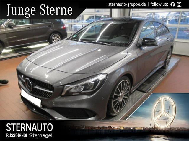 Mercedes-Benz CLA 220 Shooting Brake 4M AMG Night-Paket COMAND, Jahr 2017, Benzin