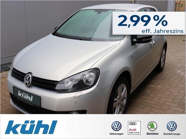 Volkswagen Golf VI 1.2 TSI Match Klimaautomatik,Sitzhz., Jahr 2012, Benzin
