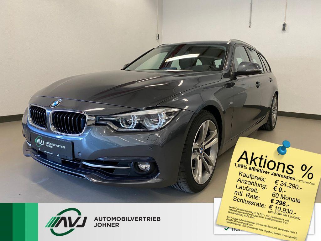 BMW 330d Touring Aut. Sport Line | HUD |Leder |ACC, Jahr 2017, Diesel