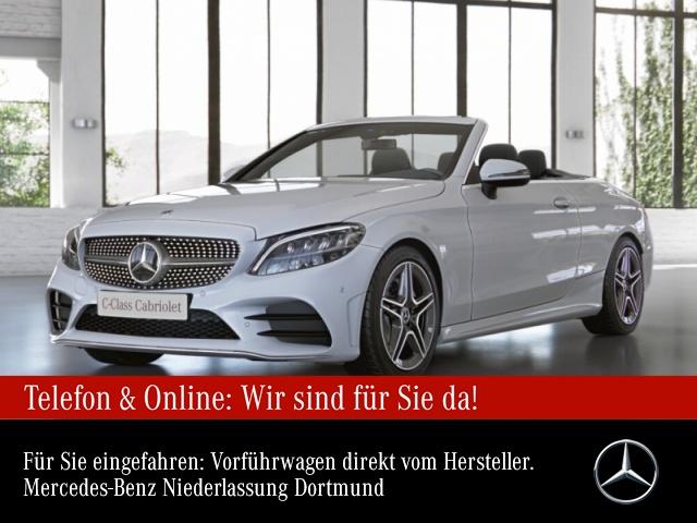 "Mercedes-Benz C 180 Cab. AMG Sportpaket AMG 18"" LED PTS Tempomat, Jahr 2021, petrol"