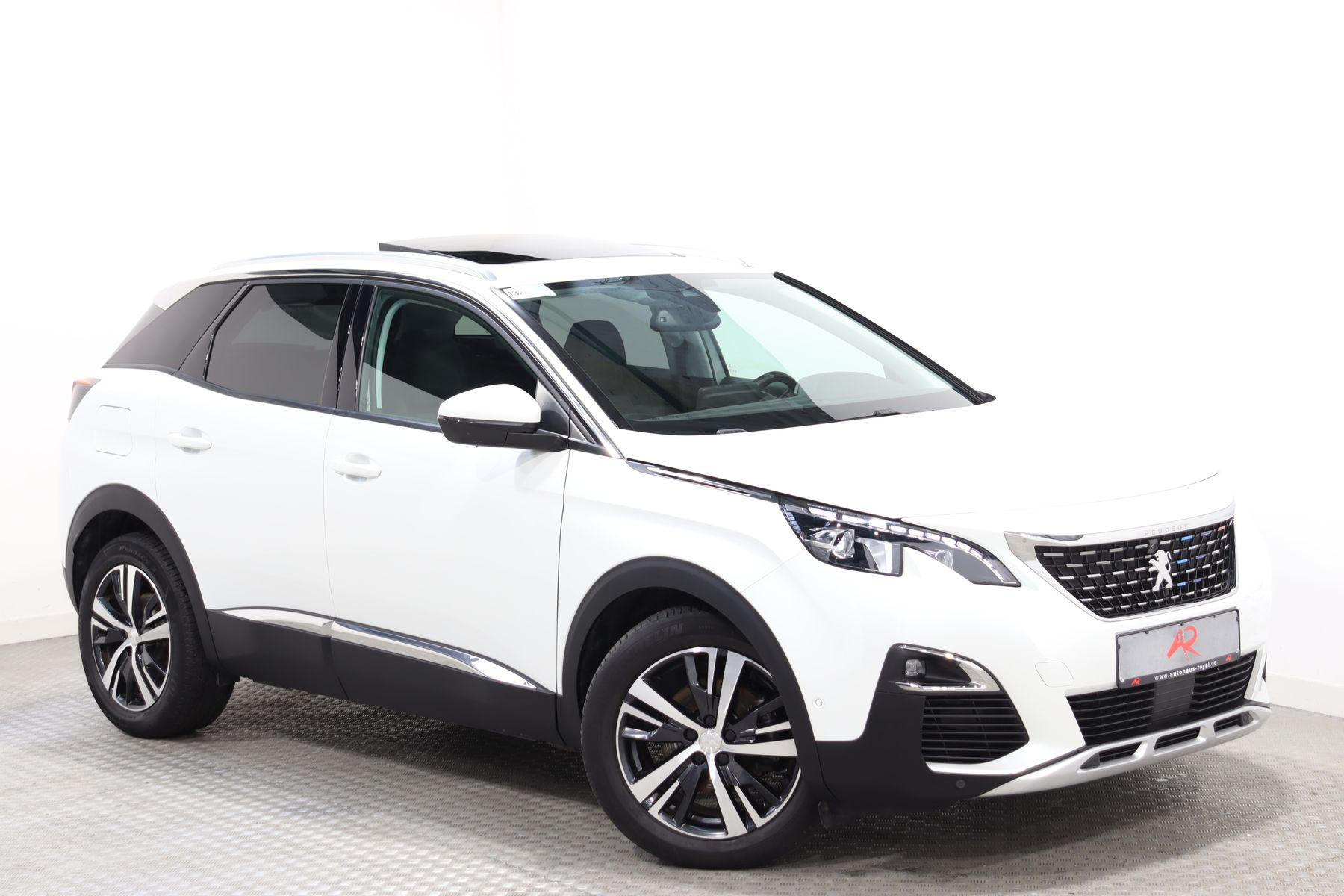 Peugeot 3008 2.0 BlueHDi ALLURE PANORAMA,TOTWINKEL,LED, Jahr 2018, Diesel