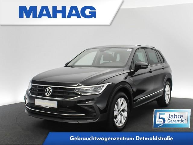 Volkswagen Tiguan 1.5 TSI UNITED NaviPro LED AHK DigitalCockpitPro eKlappe AppConnect ParkAssist FahrerAssistPlus 18Zoll 6-Gang, Jahr 2020, Benzin