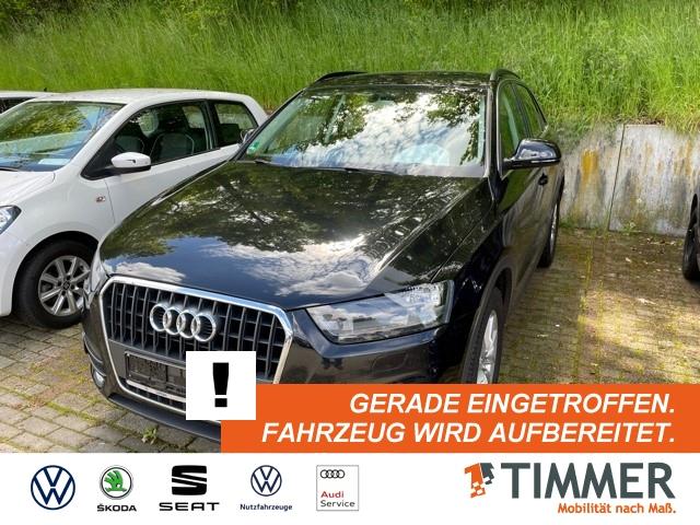 Audi Q3 2,0 TDI *AHK*TEMPOMAT*KLIMAAUTOMATIK* 6-Gang, Jahr 2013, Diesel