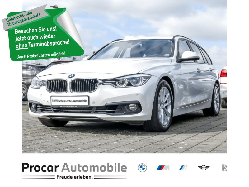 BMW 325d Touring Aut. Navi LED Leder Sportsitze AHK, Jahr 2018, Diesel