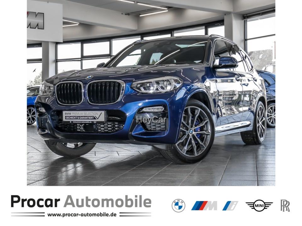 BMW X3 XDRIVE30D A M-Pak NavPro Pano Standhz HuD, Jahr 2019, Diesel