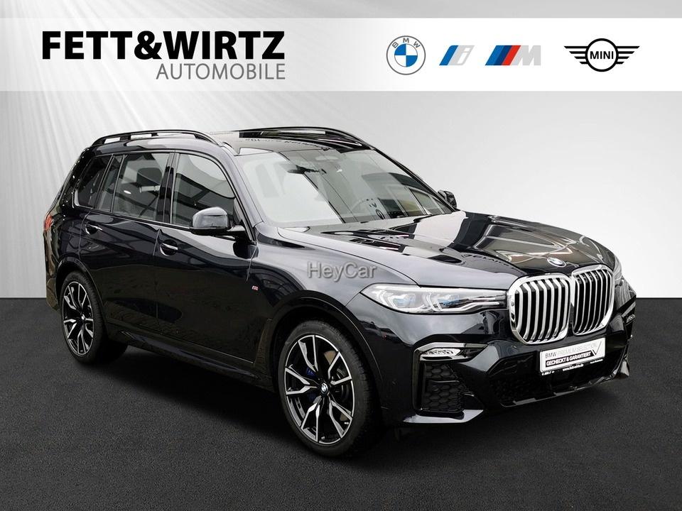 BMW X7 xDrive40i M-Sport AHK Leas. ab 1079,- br.o.A., Jahr 2019, Benzin