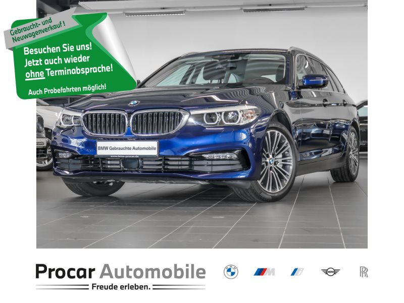 BMW 540i xDrive Touring Sport Line ab 0,15% DAB, Jahr 2018, Benzin