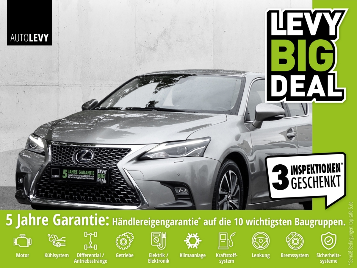 Lexus CT 200h Executive Line *NAVI*LED*RFK*SHZ*, Jahr 2018, Benzin