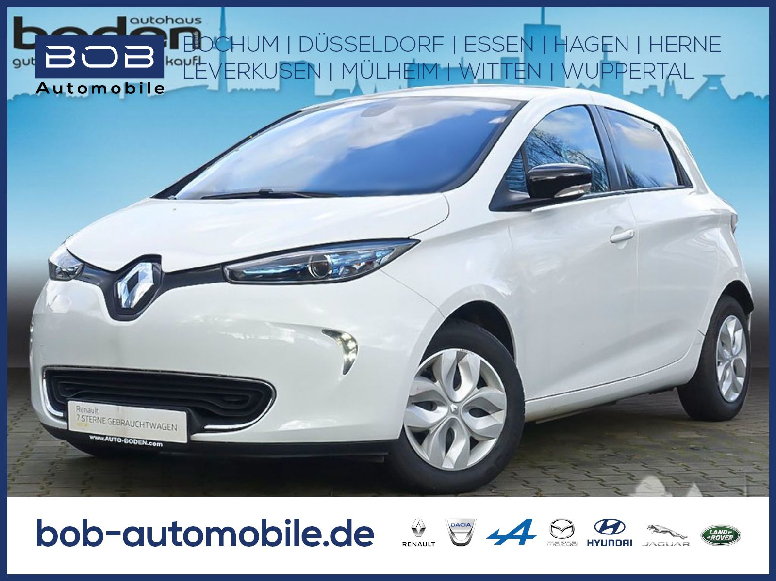 Renault ZOE Life NAVI PDC neue Reifen, Jahr 2015, Elektro
