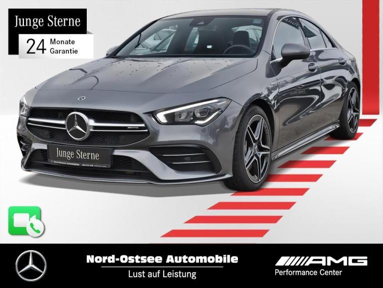 Mercedes-Benz CLA 35 AMG 4M Navi Pano MBUX LED Kamera 7G-DCT, Jahr 2020, Benzin