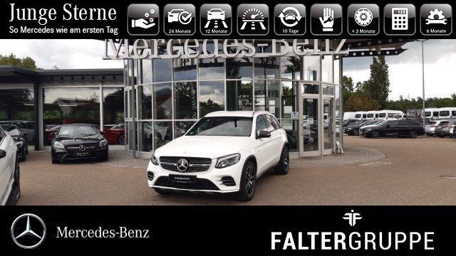 Mercedes-Benz GLC 43 AMG DISTRO Navi AHK schw.Glas LED PTS SHZ, Jahr 2017, Benzin