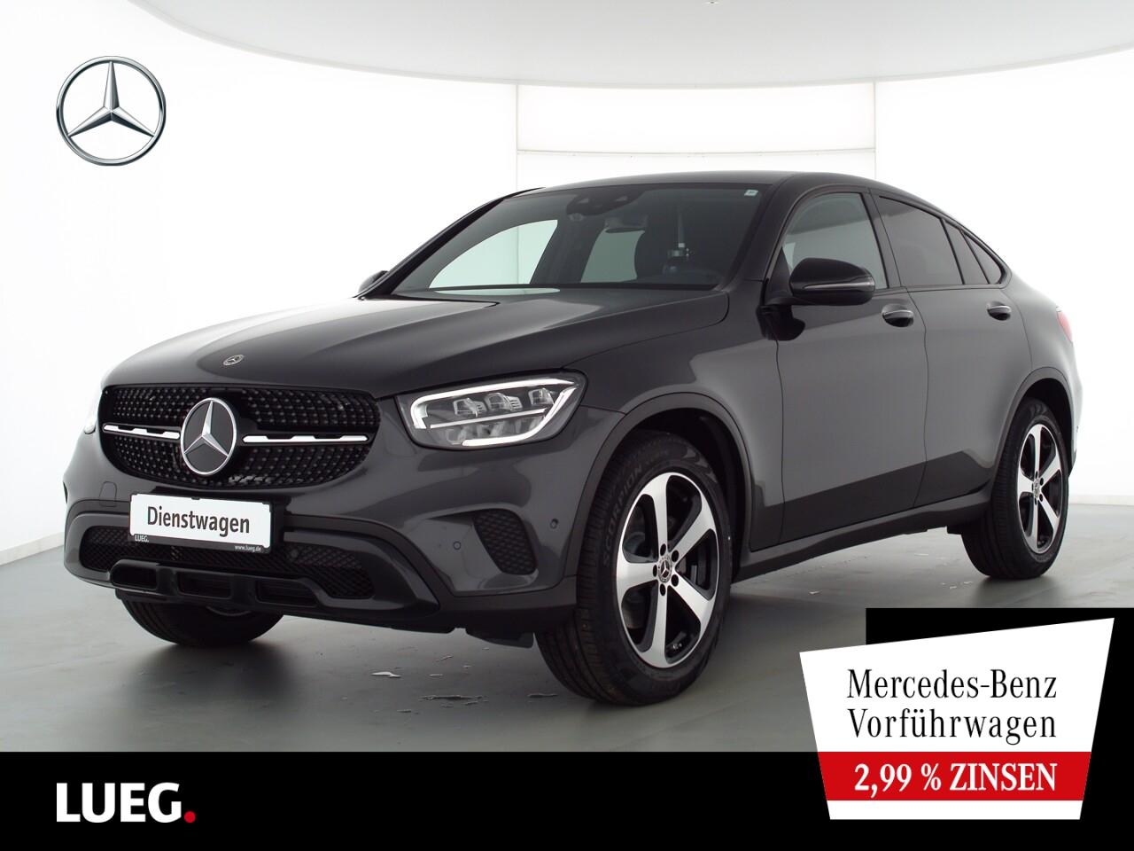 Mercedes-Benz GLC 220 d 4M Coupé NIGHT+19''+EXCLUSIVE+BURMESTE, Jahr 2021, Diesel