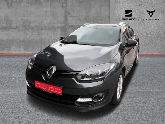 Renault Megane Grandtour 1.6 16V Limited DeLuxe-Paket Klimaautomatik SHZ Bluetooth, Jahr 2015, Benzin