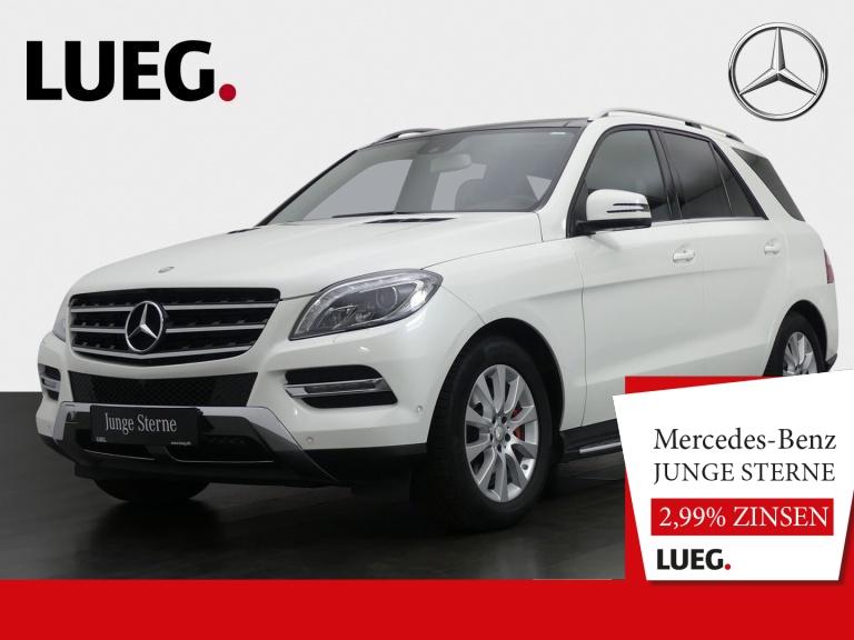 Mercedes-Benz ML 400 4M COMAND+Pano+BiXenon-ILS+18''+Mem+360°+, Jahr 2015, Benzin