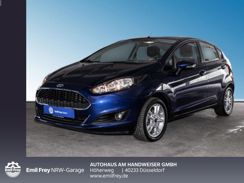 Ford Fiesta 1.25 Trend, AUX & USB, Klima, Isofix, Jahr 2016, Benzin
