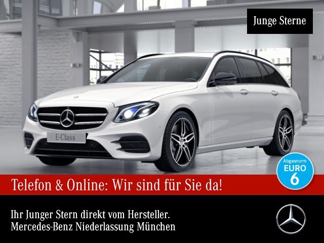 Mercedes-Benz E 350 d T AMG 360° Stdhzg Burmester Distr., Jahr 2017, Diesel