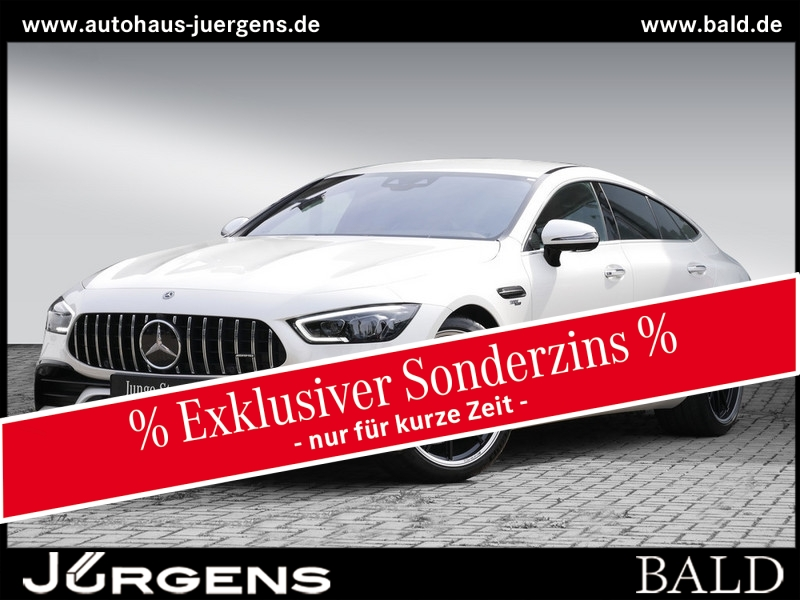 Mercedes-Benz AMG GT 53 4M+ Perf-Sitze/Carbon/Nappa/Designo/21, Jahr 2019, Benzin