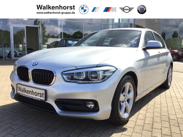BMW 116 i Sport Line EU6d-T LED PDC Tempo Sportsitze, Jahr 2018, Benzin