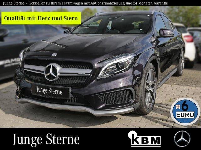 Mercedes-Benz GLA 45 AMG 4M °COMAND°TWA°RFK+PTS°EPH°ILS-XENON°, Jahr 2016, petrol