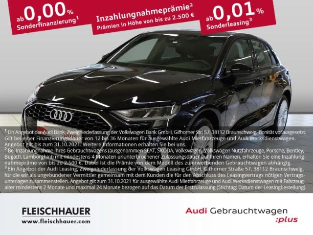 Audi A3 Sportback 35 TDI advanced Navi+LED+VC+ACC+PDC+MFL+SHZ, Jahr 2020, Diesel