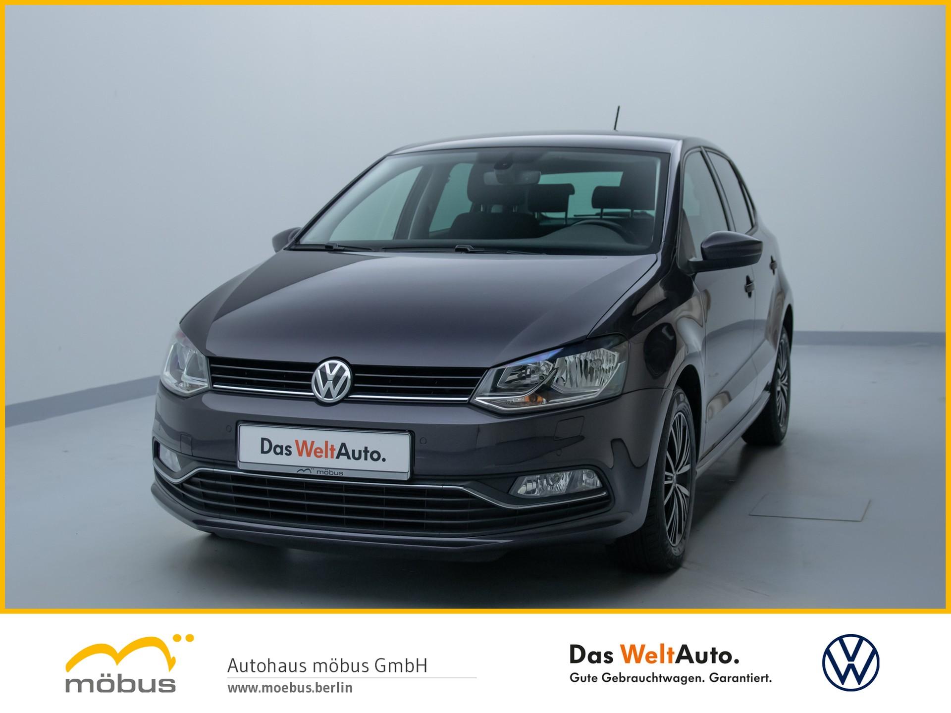 Volkswagen Polo 1.2 TSI DSG ALLSTAR +KLIMA+SHZG+LM-FELGEN+, Jahr 2016, Benzin