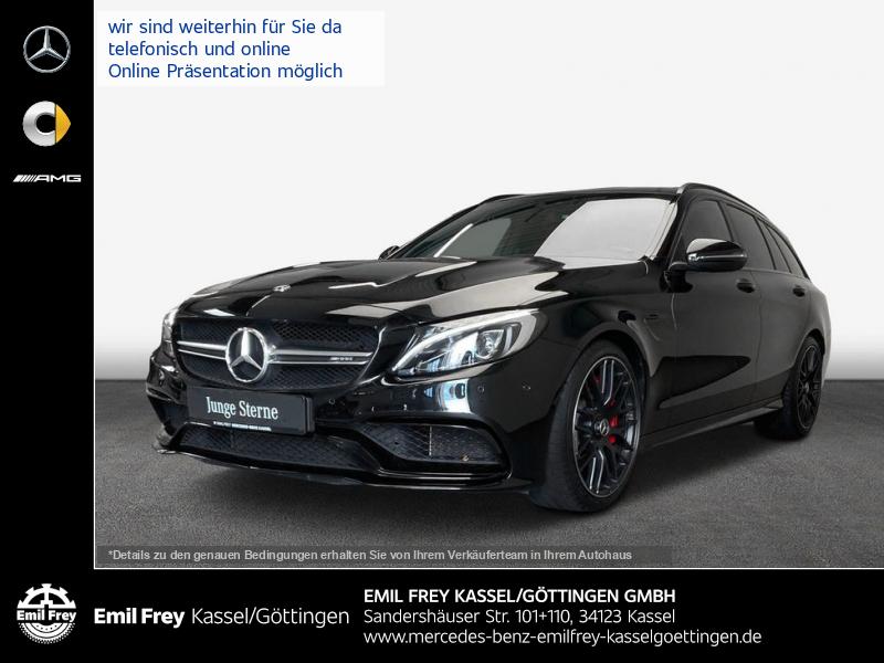 Mercedes-Benz C 63 S AMG T+PerfAbg+PerfSitze+PANO+Driver's, Jahr 2018, Benzin