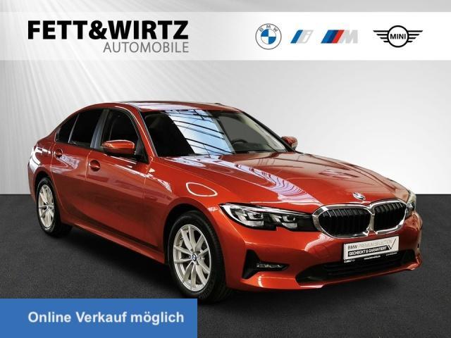 BMW 318d Aut. Navi LED HiFi SHZ Leas 325,- ab br.o.A, Jahr 2020, Diesel