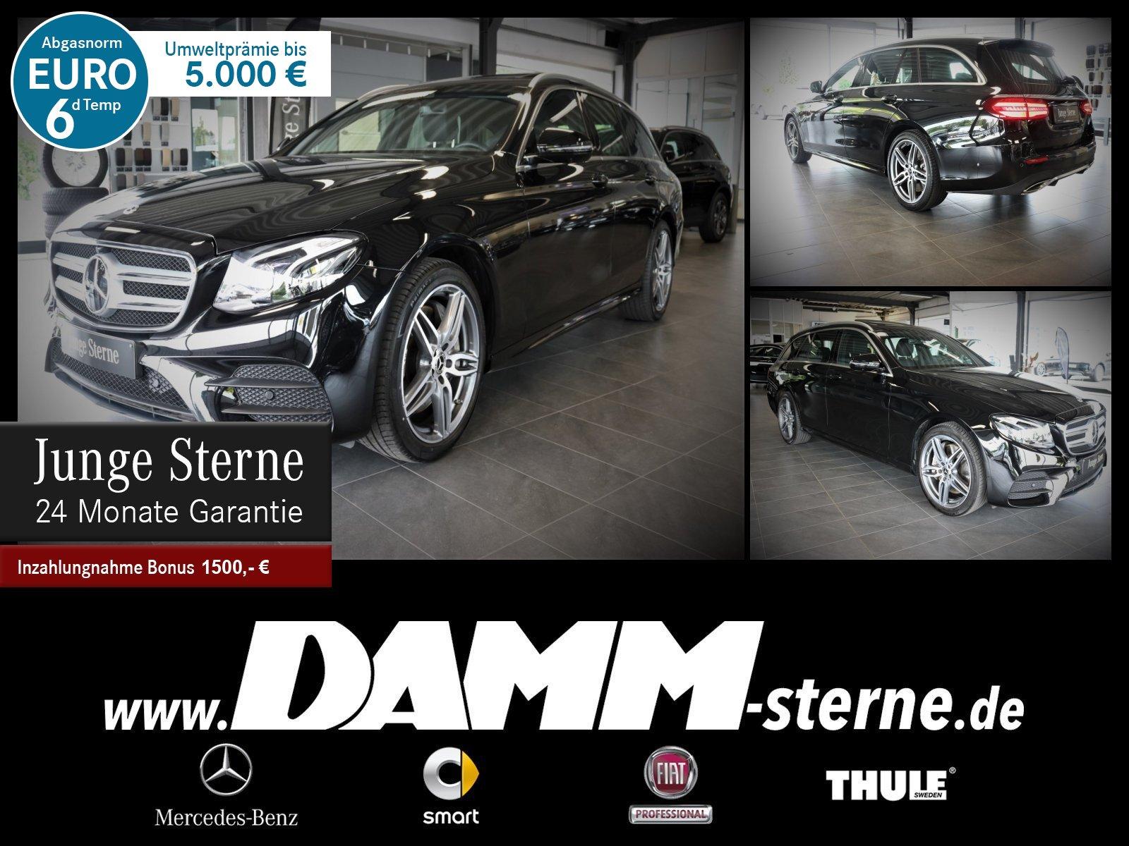 Mercedes-Benz E 450 4M T AMG Line/Widescreen/360°/GSD/Memory, Jahr 2019, Benzin