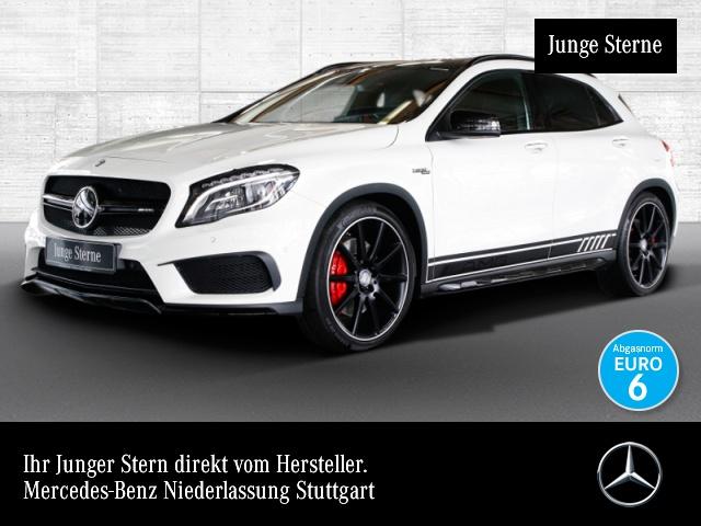 Mercedes-Benz GLA 45 AMG 4M Driversp Perf-Abgas Perf-Lenk Pano, Jahr 2016, petrol