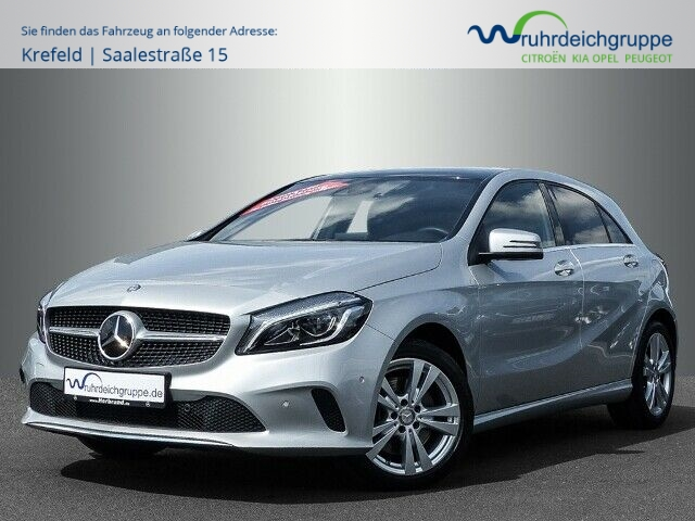 Mercedes-Benz A 250 -Klasse BlueEfficiency, Jahr 2017, petrol