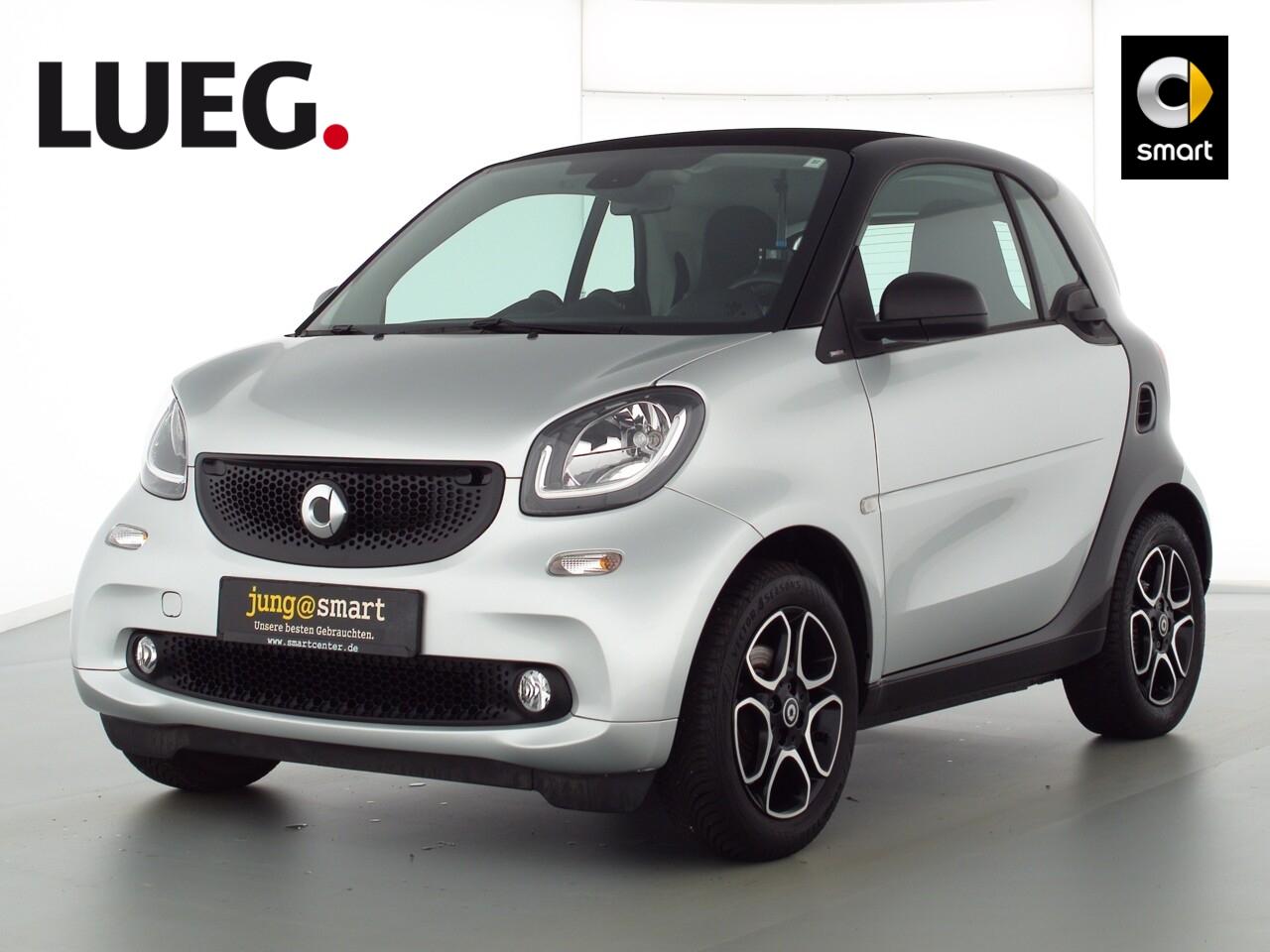 smart fortwo coupé 52kW (71 PS) passion Cool u. Media, Jahr 2018, Benzin