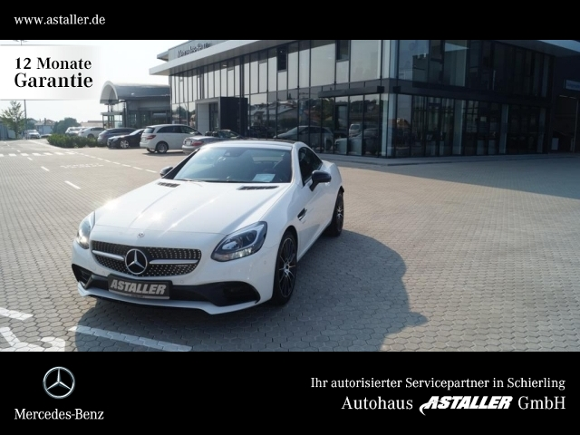 Mercedes-Benz SLC 43 AMG AMG+Night+AIRSCARF+Spur+Comand+Harman, Jahr 2018, Benzin