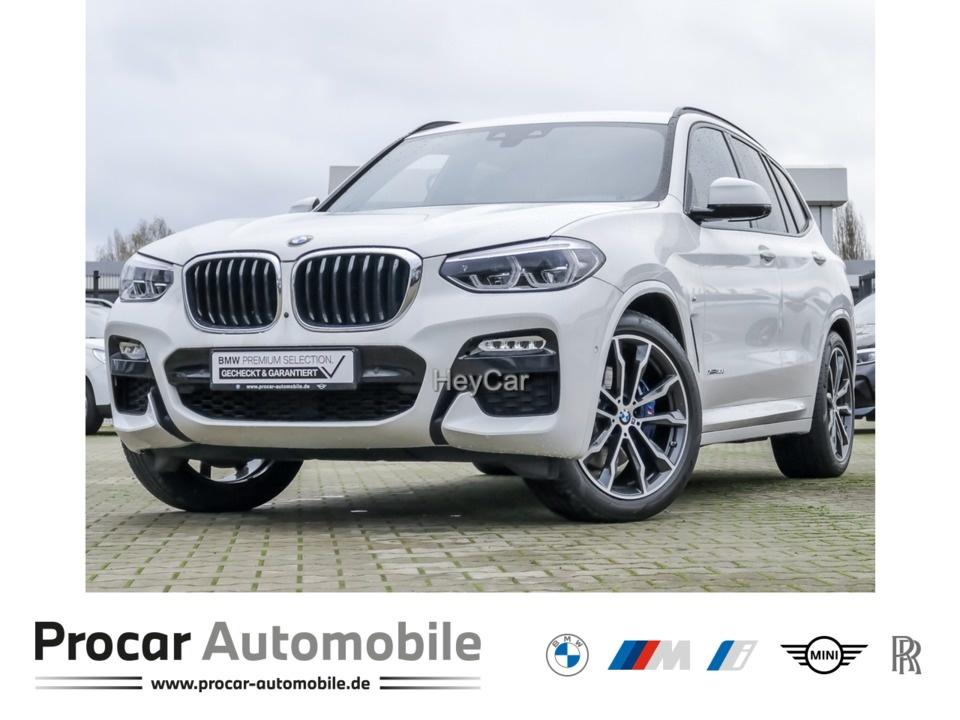 BMW X3 xDrive30d M Sport Navi Prof. PA+ 20 Zoll H/K, Jahr 2017, Diesel