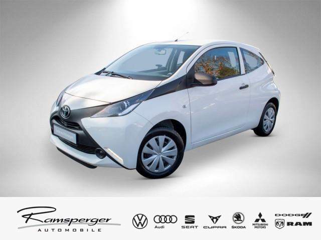 Toyota AYGO 1.0 Freisprechanlage Bluetooth, Jahr 2016, petrol