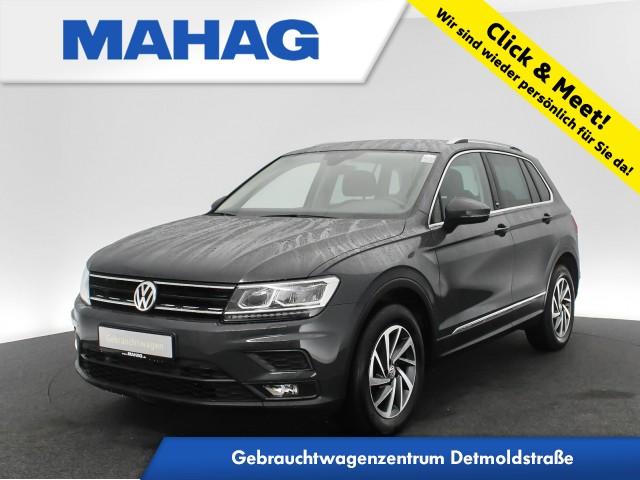 Volkswagen Tiguan 1.4 TSI 4mot. SOUND Navi LED AHK AppConnect Sitzhz. ParkPilot FahrerAssist 17Zoll 6-Gang, Jahr 2017, Benzin