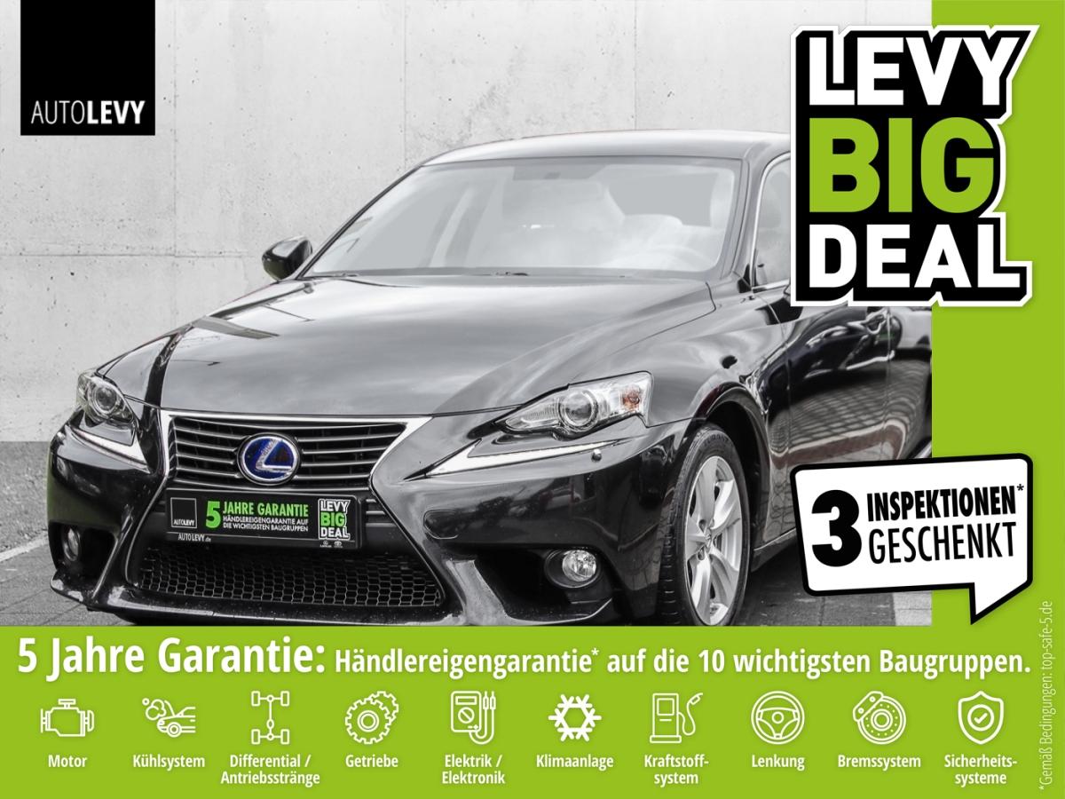 Lexus IS 300h Business Edition *Navi*Sitzheizung*Xenon, Jahr 2014, Hybrid