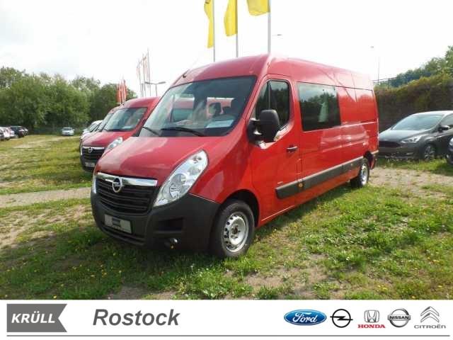 Opel Movano B 2.3 CDTI L3H2 DoKa Klima..., Jahr 2015, Diesel