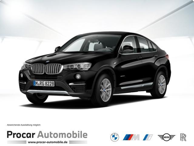 BMW X4 xDrive20d xLine // HuD AHK HiFi AHK Alarm, Jahr 2017, Diesel