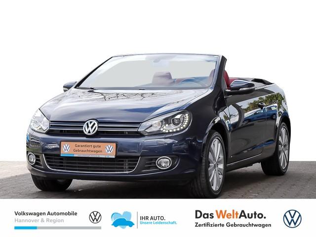 Volkswagen Golf VI Cabriolet 2.0 TDI DSG Leder Navi Xenon PDC Klima SHZ, Jahr 2015, Diesel