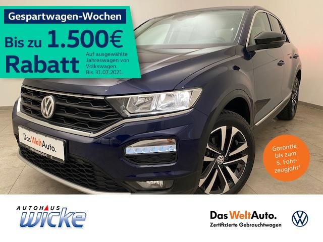 Volkswagen T-ROC 1.5 TSI United ACC Klima Navi Sitzhzg, Jahr 2020, Benzin