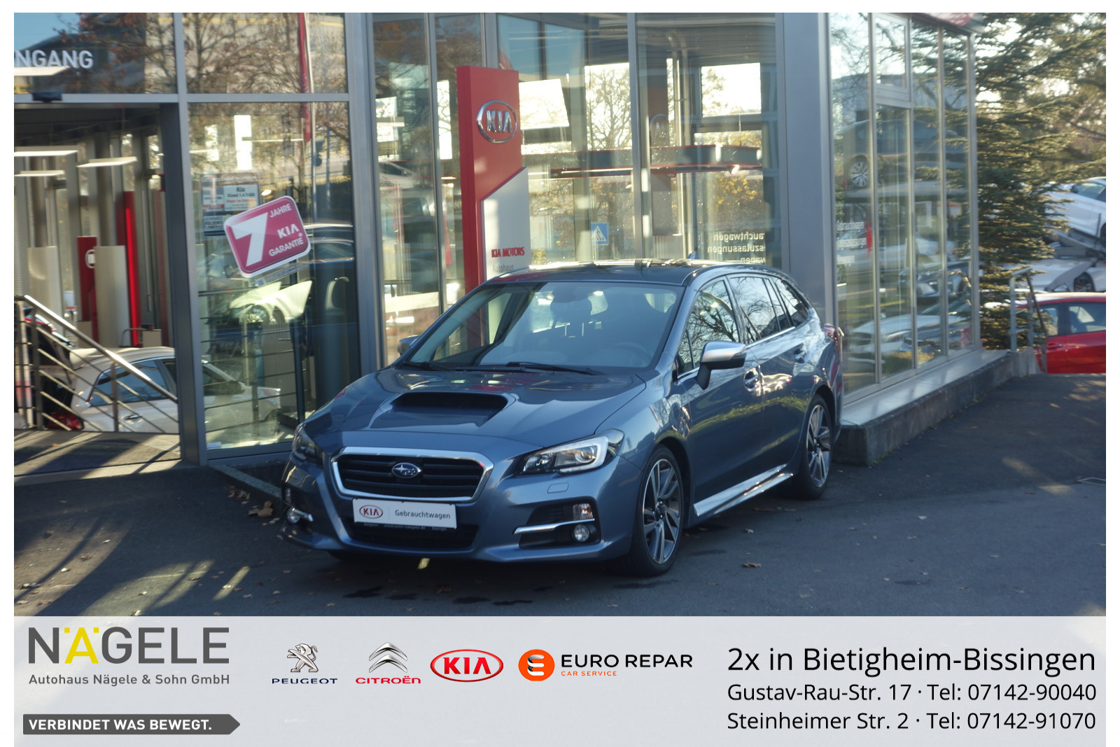 Subaru Levorg 1.6 Sport 4x4 Automatik|Navi|Klima| AHK, Jahr 2015, Benzin