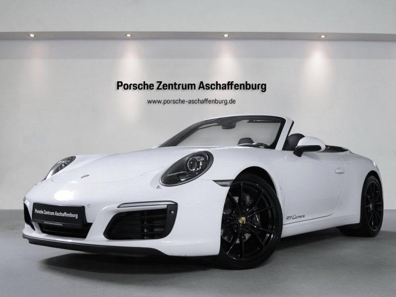 Porsche 911 Carrera Cabriolet SportabGas Sportsitz PDLS, Jahr 2018, Benzin