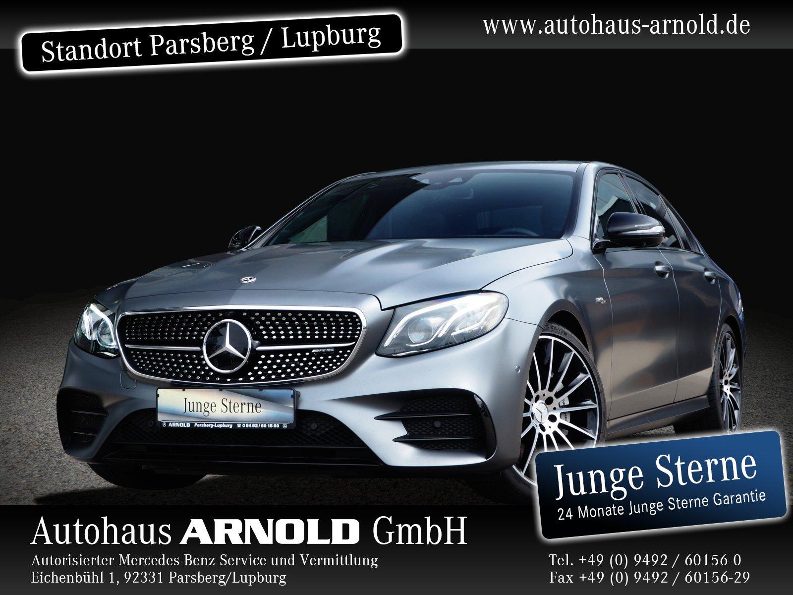 Mercedes-Benz Mercedes-AMG E 53 4M+ AMG Night Fahras.-P. magno, Jahr 2019, Benzin